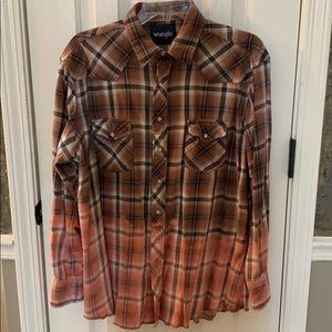 Urban Renewal Flannel Shirt Urban Outfitters UO